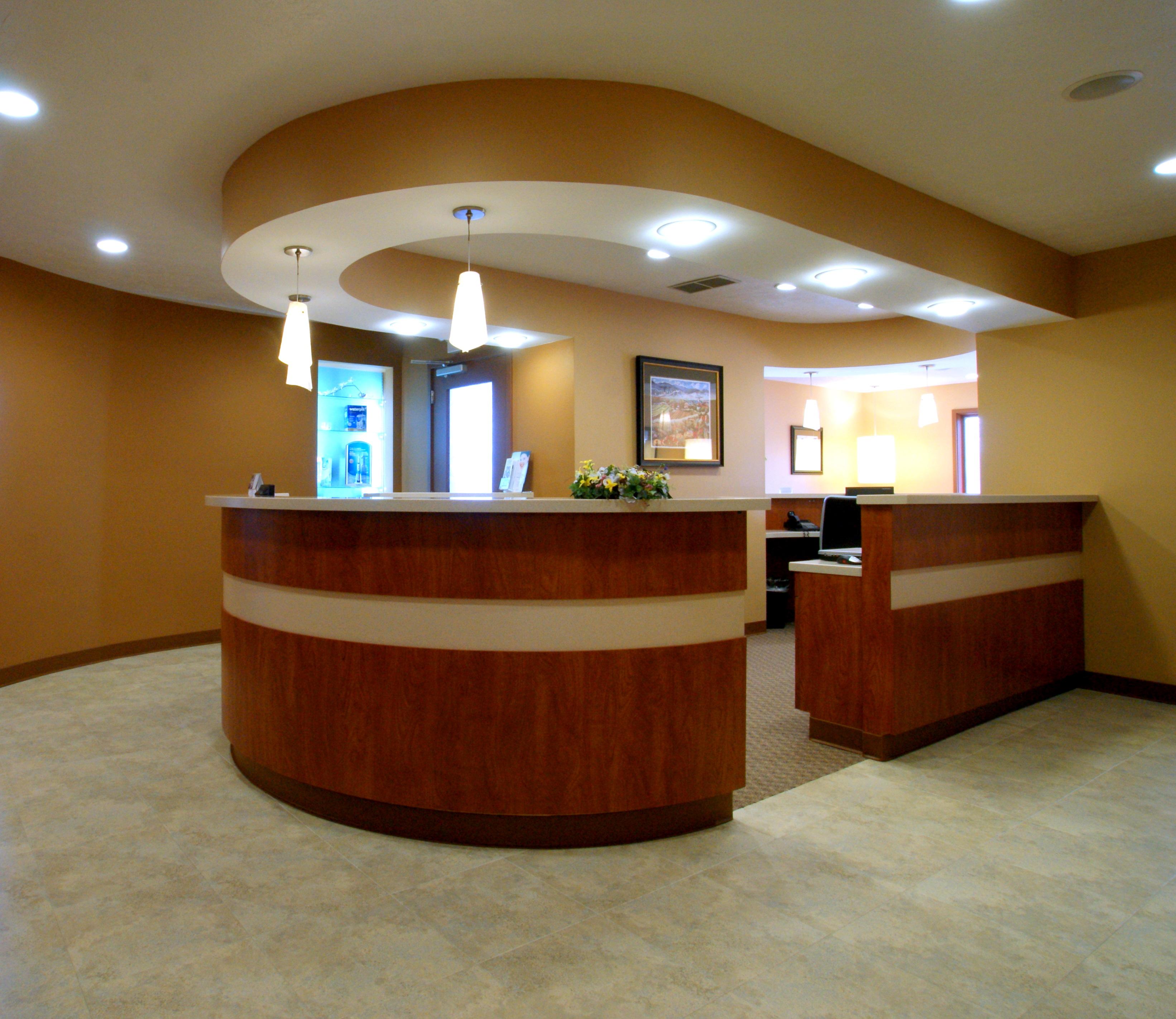 2010 april archive k ster dental weblog for Office reception design