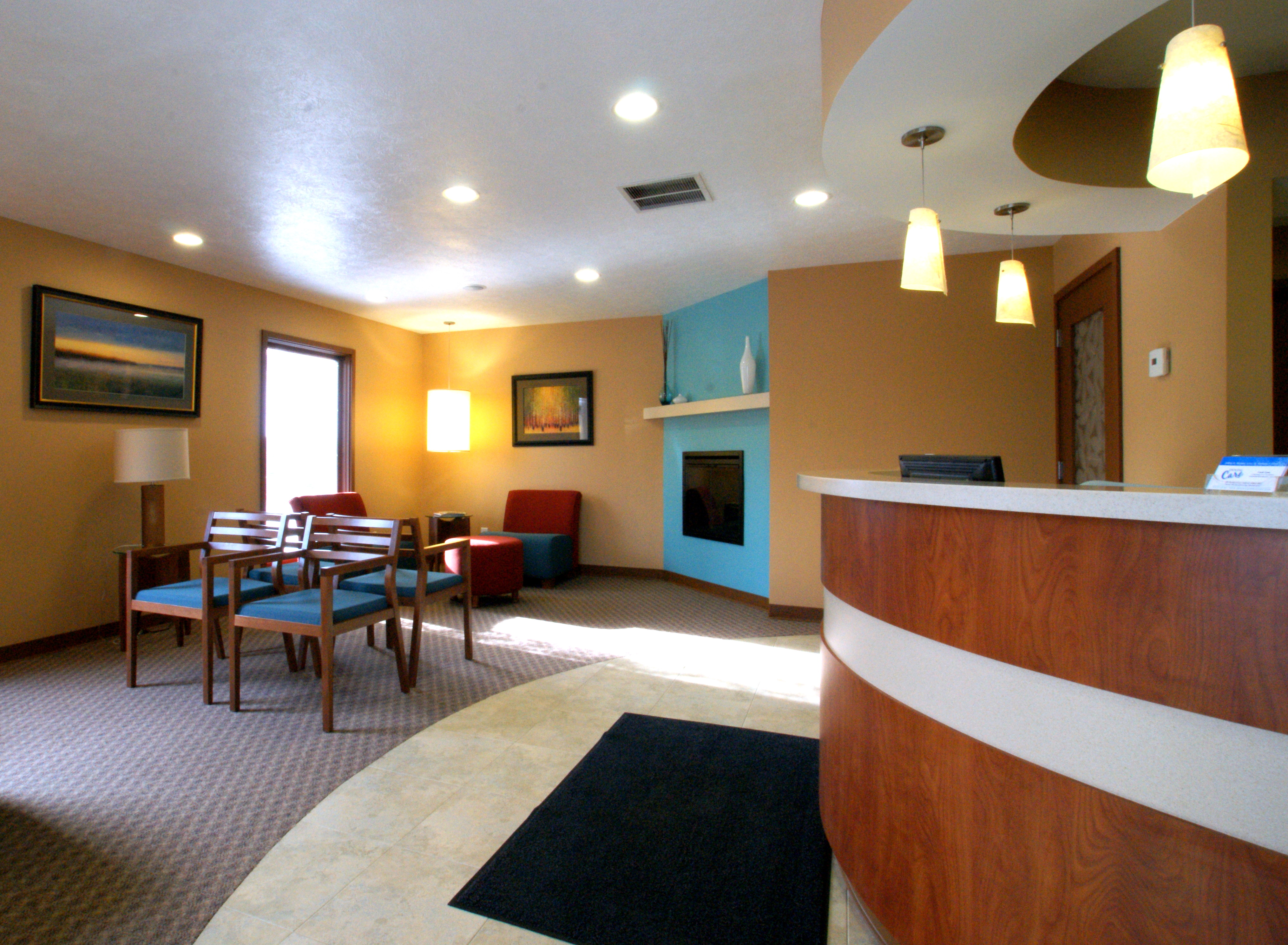 Doctor office waiting room design